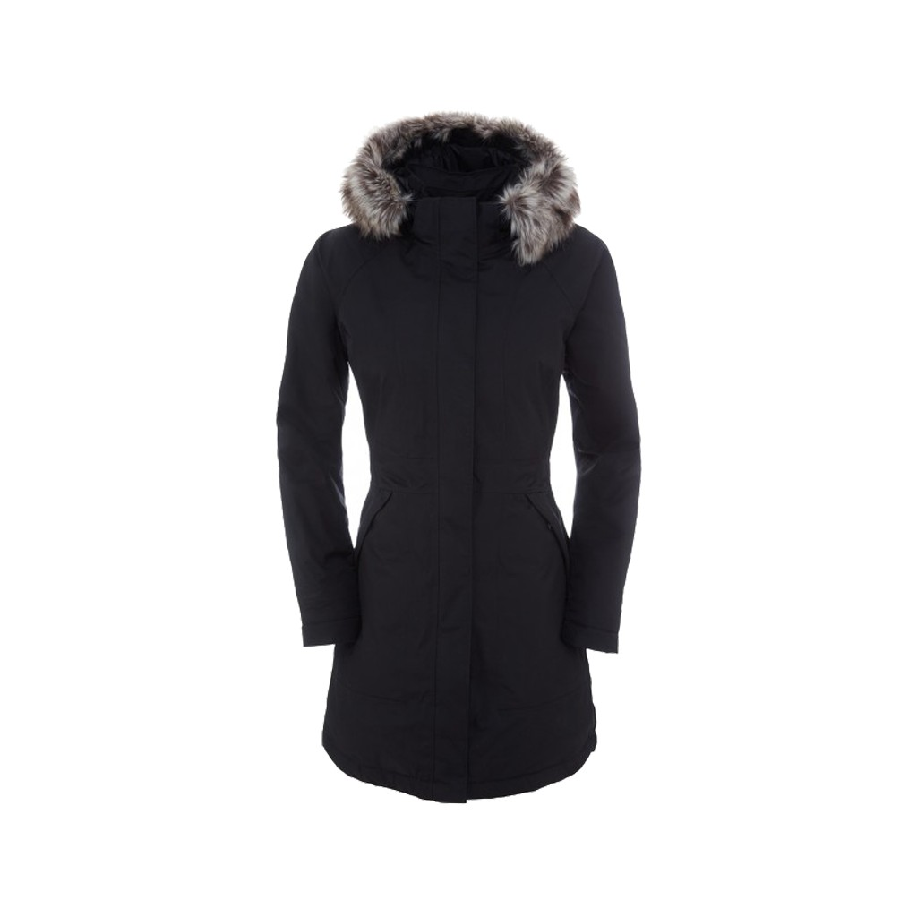 kurtka parka the north face arctic black
